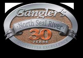 Ganglers 30 years logo