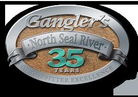 Ganglers 35 years logo