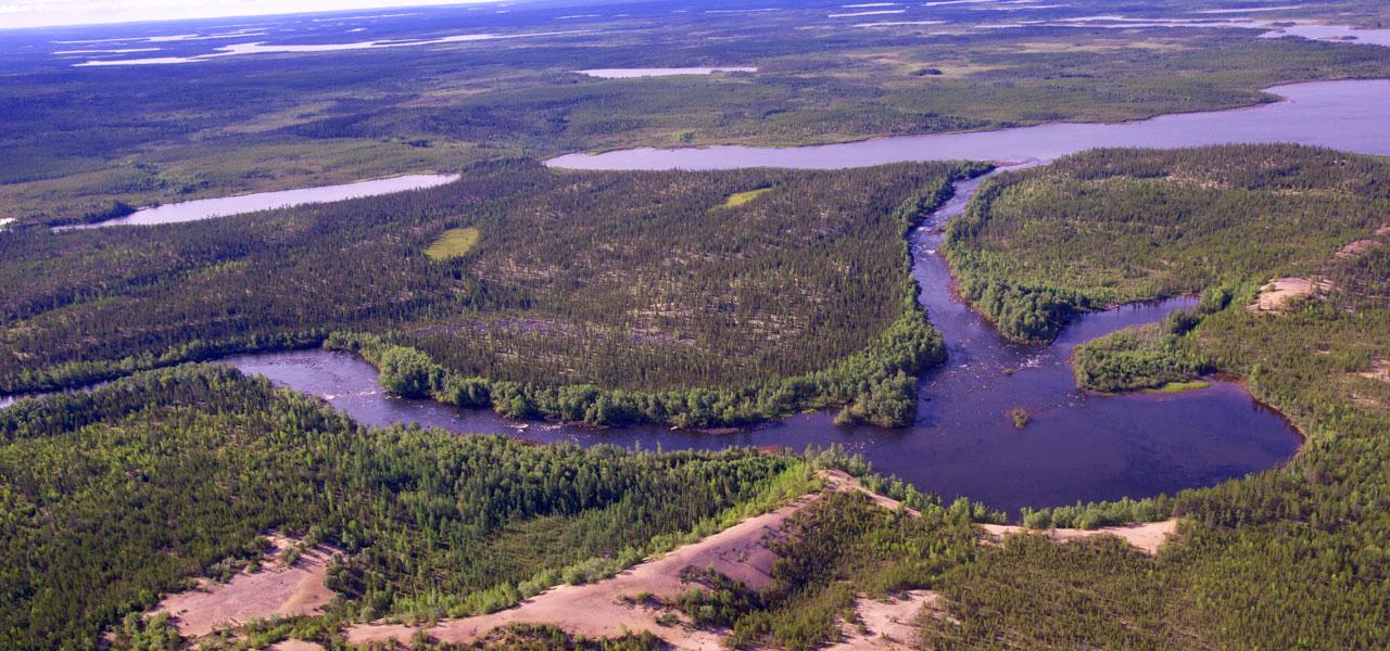 River runs through it all