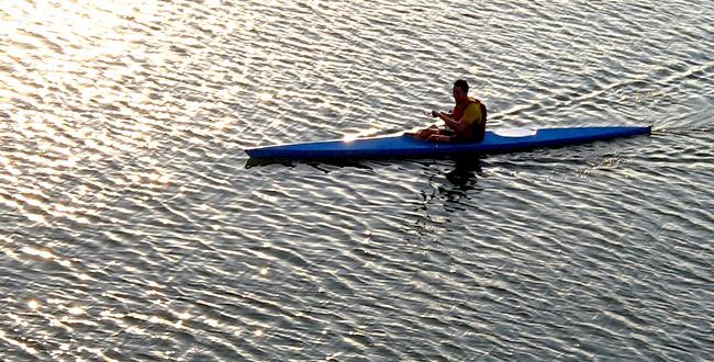 Kayaking the North Seal